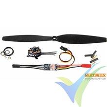 Multiplex Propulsion Kit 1-01686 for Slick X360 4D