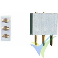 Conector Multiplex (MP), 3 pines hembra, 5 uds