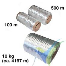 Mecha fibra de vidrio VETROTEX P185-EC14, 2400 tex, bobina 500 m
