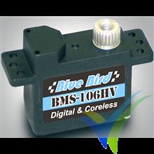 Servo digital Blue Bird BMS-106HV, 10.5g, 3.7Kg.cm, 0.07s/60º, 6V-7.4V