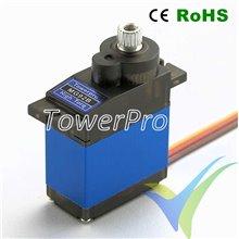 Servo digital TowerPro MG92B, 13.8g, 3.5Kg.cm, 0.08s/60º, 5V-6V