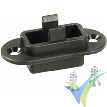 Soporte de montaje para conector Multiplex (MPX) M6 macho, 5 uds