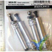 Separadores Dualsky ME4-50, 50mm para motor brushless, 60g
