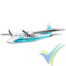 Kit avión Multiplex TwinStar ND, 1420mm, 1500g