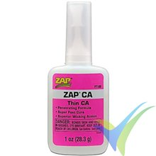Adhesivo cianoacrilato (CA) fluido ZAP PT-08, 28.3g
