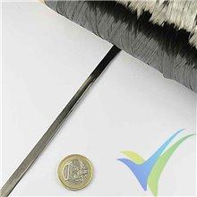 Mecha fibra carbono Tenax HTS40 F13, 12k, 800 tex, bobina 1Kg, aprox. 1250m