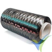 Mecha fibra carbono SIGRAFIL® C50, 24k, 1600 tex, bobina 1Kg, aprox. 625m