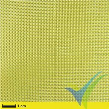 Tela de kevlar 36g/m², tejido liso, rollo 100cm x 5m
