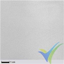 Tela de fibra de vidrio 49g/m², tejido liso acabado FE 800, rollo 110cm x 20m