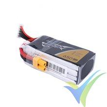 Batería LiPo Tattu - Gens ace 650mAh (9.62Wh) 4S1P 75C 74g XT30