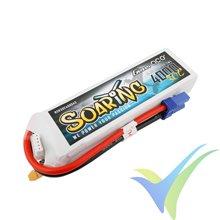 Batería LiPo Gens ace Soaring 4000mAh (59.2Wh) 4S1P 30C 376g, EC5
