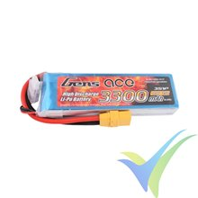 Batería LiPo Gens ace 3300mAh (36.63Wh) 3S1P 25C 297g XT90