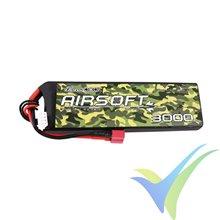 Batería LiPo Gens ace 3000mAh (33.3Wh) 3S1P 201g Deans (Airsoft)