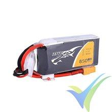 Batería LiPo Tattu - Gens ace 850mAh (9.44Wh) 3S1P 75C 85g XT30