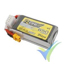 Batería LiPo Tattu R-Line - Gens ace 650mAh (7.22Wh) 3S1P 95C 60g XT30