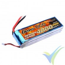 Gens ace LiPo Battery 4000mAh (44.4Wh) 3S1P 25C 328g Deans