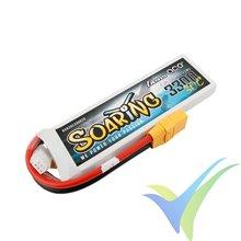 Batería LiPo Gens ace Soaring 3300mAh (24.42Wh) 2S1P 30C 186g XT90
