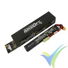 Batería LiPo Gens ace 1200mAh (8.88Wh) 2S1P 25C 59g mini Tamiya (Airsoft)