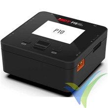 Cargador iSDT P10 dual 250W+250W, 10V-30V DC, 1S-6S, 10A