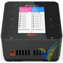 Cargador iSDT P30 dual 1000W+1000W, 10V-34V DC, 1S-8S, 30A