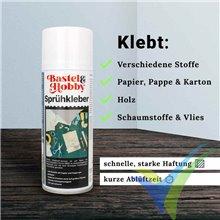 Adhesivo Bastel&Hobby en aerosol con válvula variable, 400ml