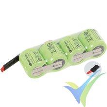 Batería receptor Ni-MH GP 250mAh, 4.8V, 34g