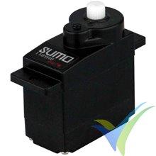Servo analógico Yuki Model Sumo 1199BU, 9g, 1.7Kg.cm, 0.11s/60º, 4.8V-6V