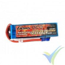 Gens ace LiPo Battery 4000mAh (88.8Wh) 6S1P 60C 671g EC5
