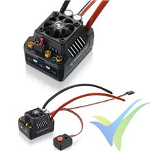 Variador brushless coche HobbyWing EzRun MAX10 SCT, 120A, 2S-4S, BEC 3A, 105g