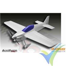 Combo avión Multiplex AcroMaster Pro RR, 1100mm, 1350g