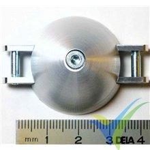Cono aluminio Ø32/4/8/3 FAI para bipala plegable, 14.2g