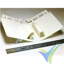 Soporte alar servo estándar Modelimport, izquierdo y derecho, 7.6g