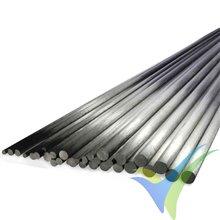 Varilla de carbono DPP Ø5.0x500mm
