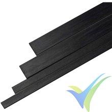 Varilla de carbono rectangular 6x0.5x1000mm