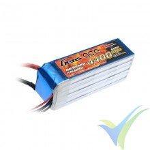 Gens ace LiPo Battery 4400mAh (97.68Wh) 6S1P 35C 654g Deans