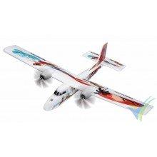 Multiplex TwinStar BL Summertime airplane kit, 1250mm, 1500g