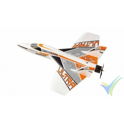 Kit avión FunJet Ultra Edición Blanca (Multiplex)