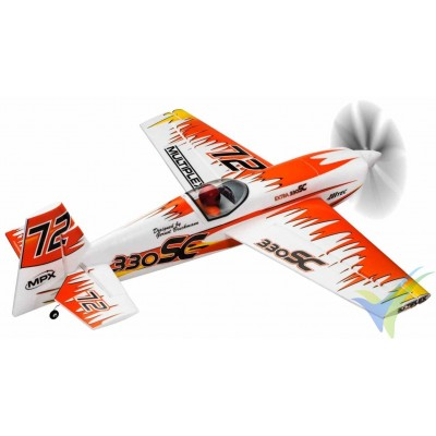 Kit avión EXTRA 330SC diseñado por Gernot Bruckmann - naranja (Multiplex)