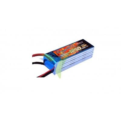 Batería LiPo Gens ace 1250mAh (27.75Wh) 6S1P 45C 234.5g