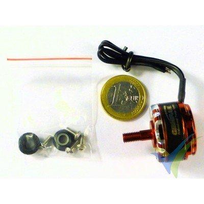 Motor brushless GEMFAN GT2206R, 2500Kv, CW, 33g, para multirrotor