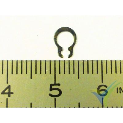 Clip acero EMP 7x3.5x0.45mm, para eje de motor