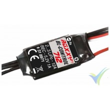Variador brushless Multiplex ROXXY BL-Control 712, 12A, 2S-3S, BEC 1A, 13g