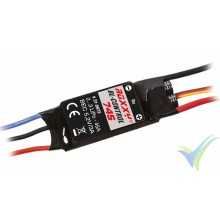 Variador brushless Multiplex ROXXY BL-Control 745, 45A, 2S-3S, BEC 3A, 45g