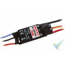 Multiplex ROXXY BL-Control 745 ESC, 45A, 2S-3S, BEC 3A, 45g