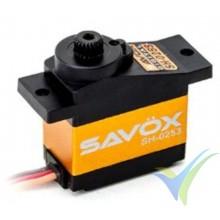 Servo digital Savox SH0253, 13.6g, 2.2Kg.cm, 0.09s/60º, 4.8V-6V