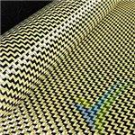 Fibra de carbono/kevlar